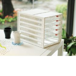 Vertical A4 Stationery Organiser