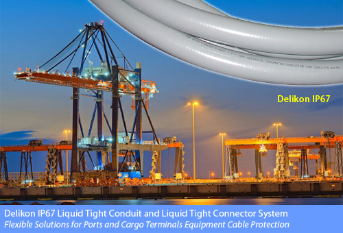 [CN] automotive industry automation Delikon Liquid Tight Conduit Liquid Tight Conduit fittings for Port Equipment Cable Protection