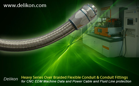 [CN] Automation Heavy Series Over Braided Flexible Conduit flexible Conduit Fittings protect CNC EDM Machine Data and Power Cable and Fluid Line